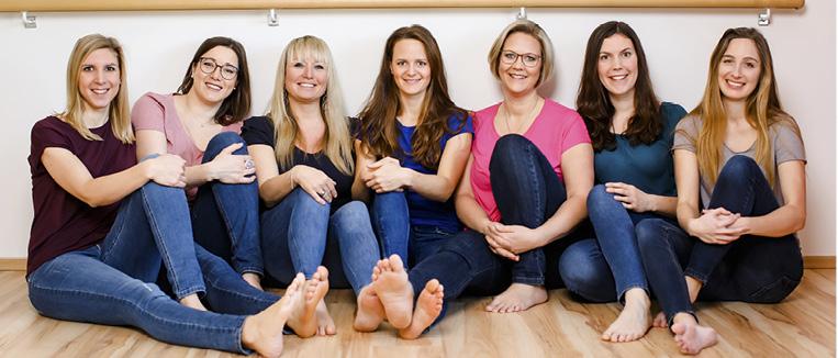 Physiotherapie Praxis Wolkersdorf - Therapeutinnen Team