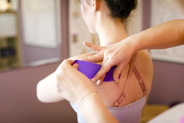 Physiotherapie Praxis Wolkersdorf - Kinesio® – Taping