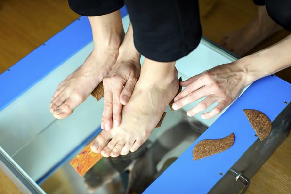 Physiotherapie Praxis Wolkersdorf - Podotherapie / Anpassen podologischer Einlagen
